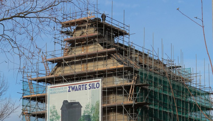 RENOVATIE ZWARTE SILO IN DEVENTER